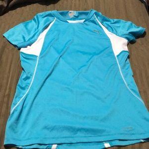 Puma blue athletic shirt, size xs